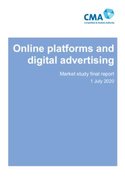 Online platforms and digital advertising