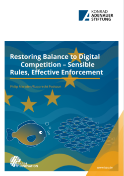 Restoring Balance to Digital Competition – Sensible Rules, Effective Enforcement