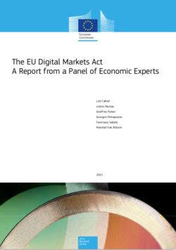 The EU Digital Markets Act: A Report from a Panel of Economic Experts